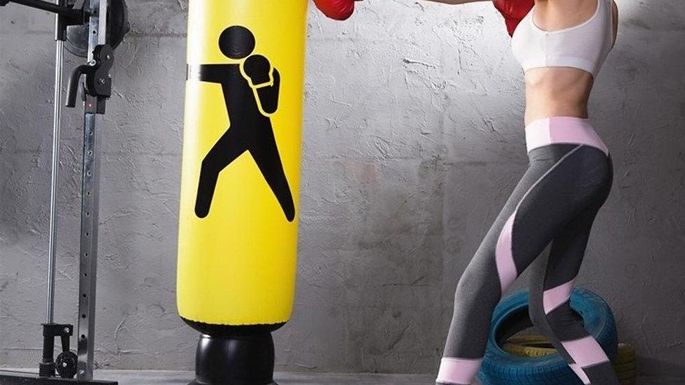 Vertical Inflatable Boxing Bag PVC Thickening Boxing Pillar Tumbler