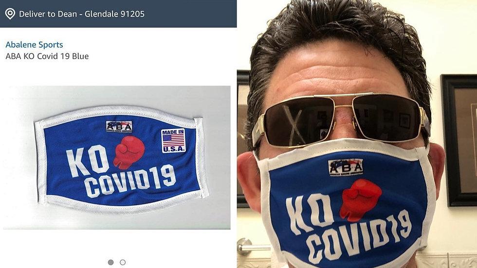 American Boxing Association, K.O. Covid-19 mask
