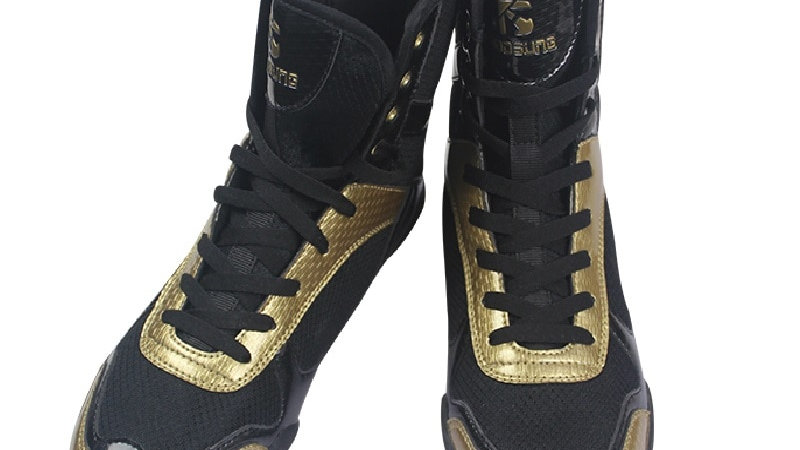 Men Wrestling Shoes Lightweight Boxing Wrestling Sneakers Plus Size 36-47