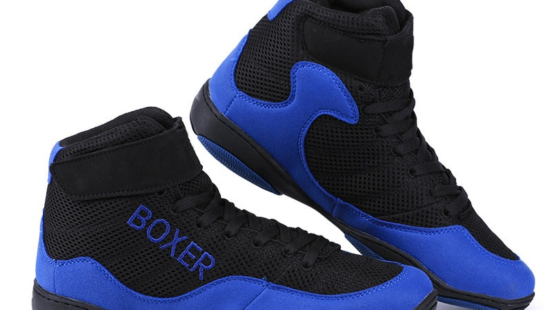 Men Boxing Fighting Shoes Male Anti-Slippery Breathable
