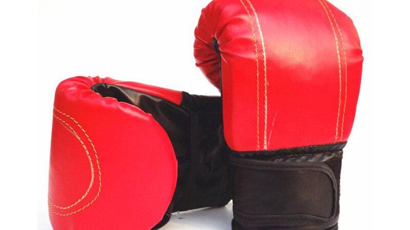 Adult Skid-Proof Exposure Finger Boxing Sandbag Gloves Children Training
