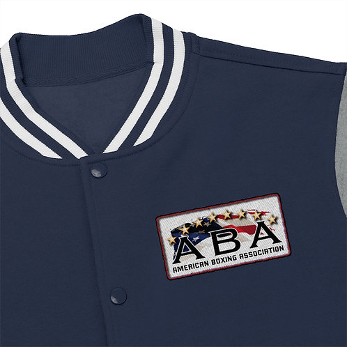 ABA Men's Varsity Jacket