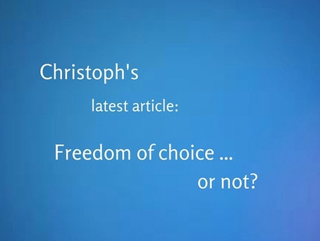 Freedom of choice or not