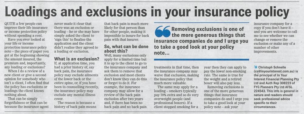 Christoph Schnelle insurance advice