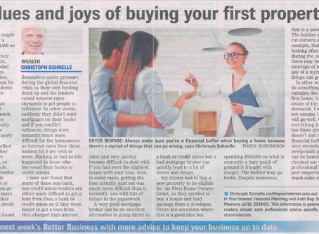 The Blues and Joys of Buying Your First Property