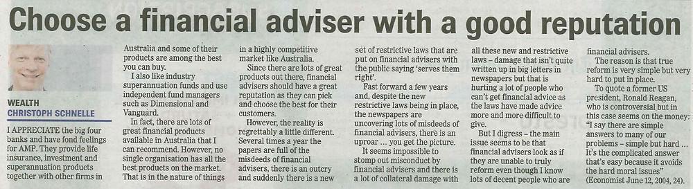 Financial Adviser Byron Bay