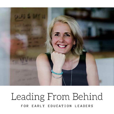Sarah Moore, facilitator of the Leading From Behind