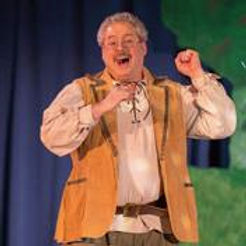 Corbin Abernathy as Geppetto in StoryBook Musical Theatre's production of Pinocchio 2015