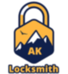 AK Locksmith Logo