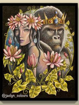 Beauty and the Silverback - Jaclyn Ng Markovic