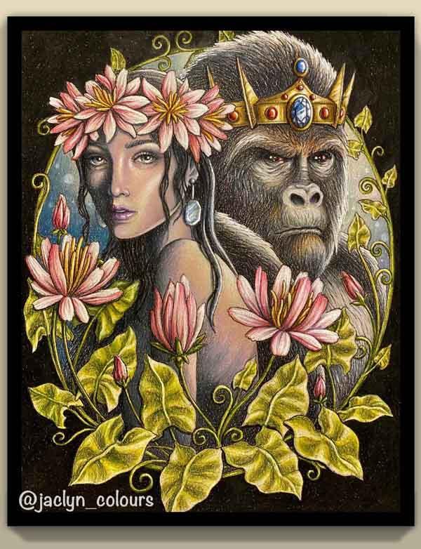 Beauty and the Silverback - Jaclyn Ng