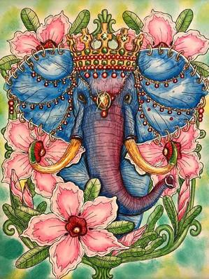 Elephant Majestic - Osnat Moskovich