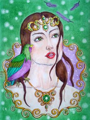 Falling Feathers - Danielle Crombez.jpg
