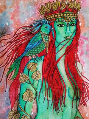 Bird Keeper - Puuli @colorfulworldofpear