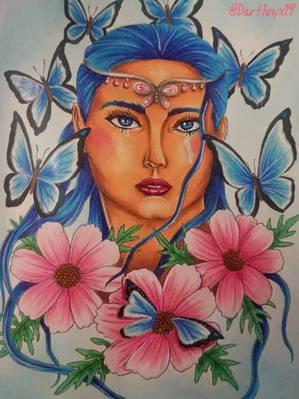 Queen_Lepidoptera_-_Stéphanie_Banville.