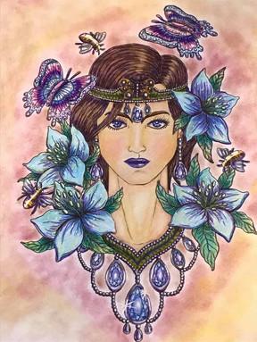 Butterfly Monarch - Daphne-wade Wall-Ben