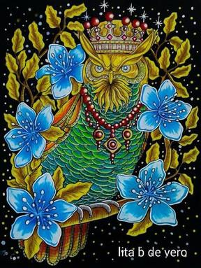 Great Horned King - Lita Buendia De Vero