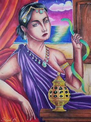 Death_of_Cleopatra_-_Stéphanie_Banville