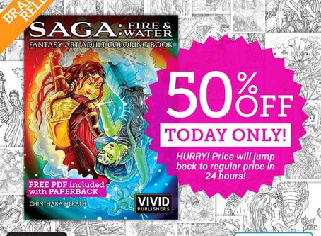 New book release - Saga: Fire & Water!