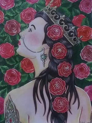 Garden Rose - Danielle Crombez