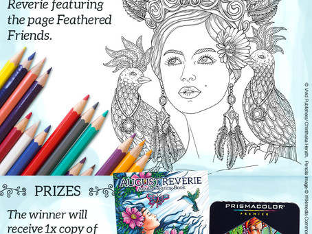 Vivid Publishers first ever COLORING CONTEST!