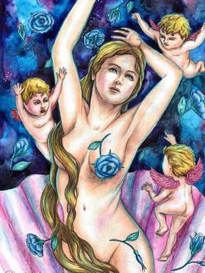 Birth of Venus - Svetlana Serebryakova.j
