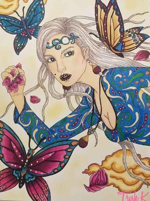 Floral Thief - Trish Kivi