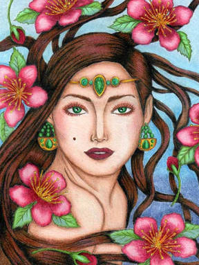 Flowery Gale - Linda Doidge Alexander.jp