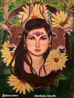 Fawn's Deer - Dorota Litzbarska.jpg
