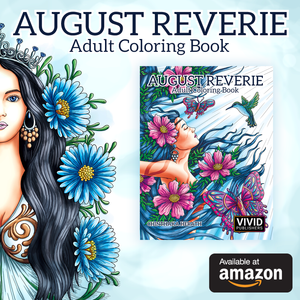 August Reverie - Adult Coloring Book