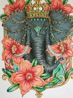 Elephant Majestic - Leone van den Heever