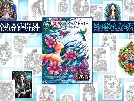 Wish you a Happy New Year!  FREE GIVEAWAY of August Reverie!