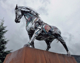 Crested Butte Chrome Horse