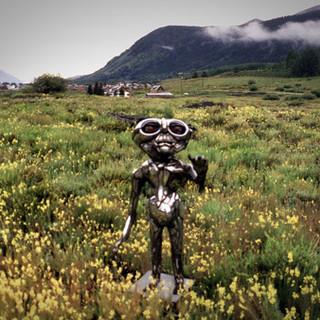 Robot Sculpture by Sean Guerrero