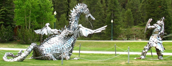 Crested Butte Chrome Dragon & Knight