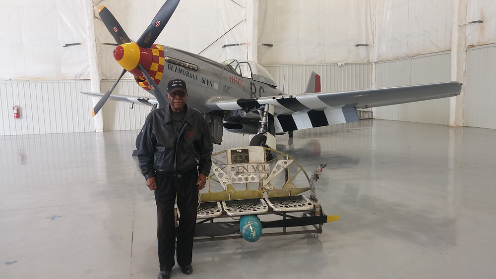 This is Col Harvey he is one of the very first Top Gun Pilots who flew a plane like this, he gave a very emotional talk during the final festivities relating to the extreme racism involved for qualifying to become a combat pilot, he was a very humble man and I'm very proud to have met him