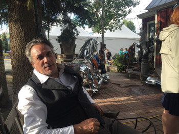 Chrome Sculpture Artist in Crested Butte