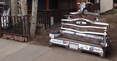 Sean Guerrero Chrome Bench in Crested Butte