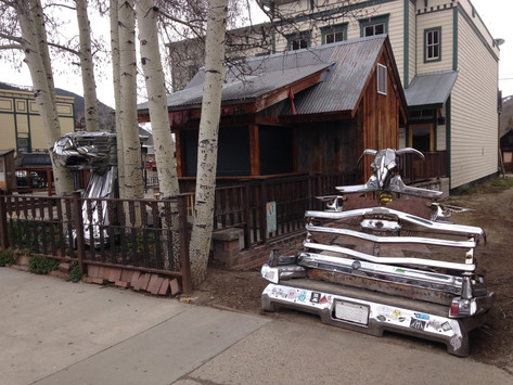 Crested Butte Chrome Bench