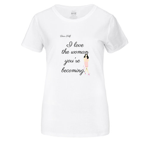 Becoming Tshirt White