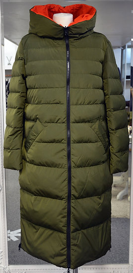 Rino & Pelle Reversible Olive/Orange Padded Coat