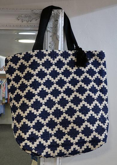 Dream Cream & Navy Bag