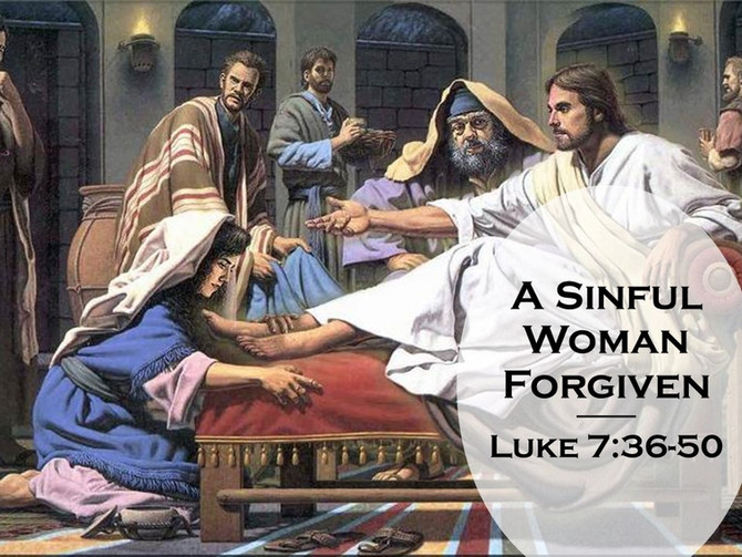 A Sinful Woman Forgiven