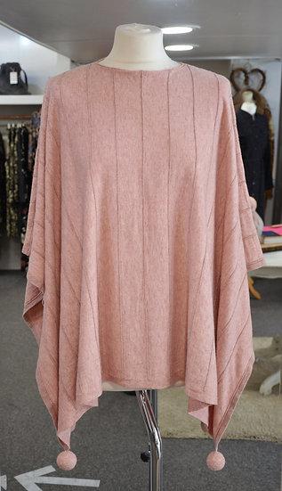 Pink Glitter Detail Cape