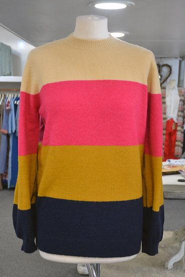 Sugarhill Brighton Block Stripe Jumper
