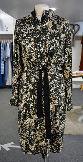 K-Design Khaki Print Dress