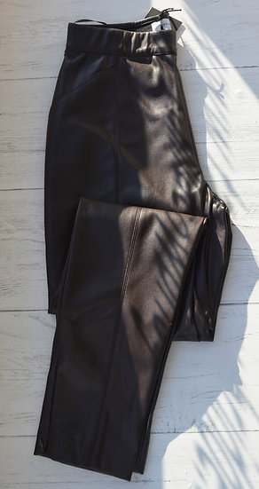 Rino & Pelle Brown Faux Leather Trousers