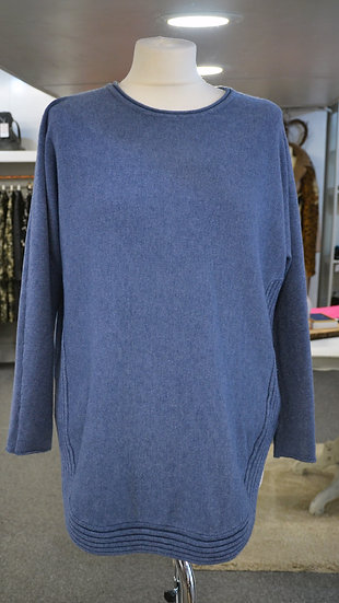 Ribbed Hem Jumper - 5 Colours Available