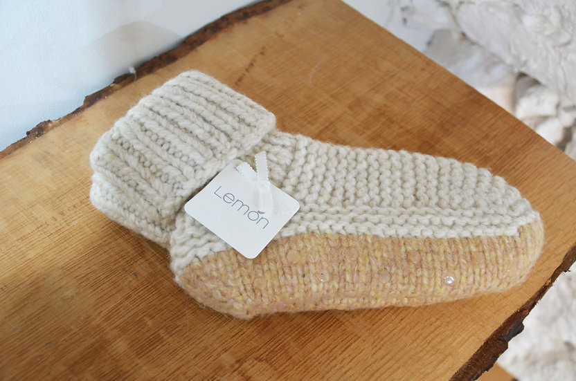 Lemon Collection Thick Slipper Booties