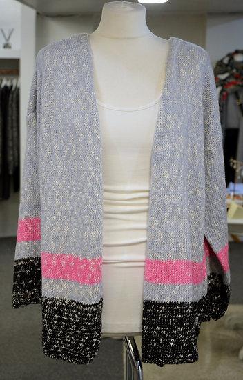A PostcardFrom Brighton Stripe Knit Cardigan